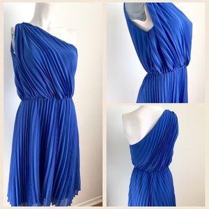 W118 by Walter Baker Dresses & Skirts - W118 by Walter Baker blue one shoulder dress