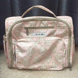 JuJuBe Blush Frosting diaper bag/backpack