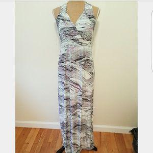 Soma Dresses & Skirts - SOMA Soft Jersey Halter Maxi Dress
