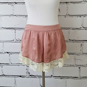 Band of Gypsies Pants - Silky Lace Shorts!