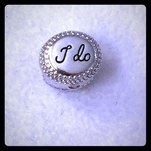 "Chamilia Jewelry - Chamilia ""I do"" Engagement Wedding Charm"