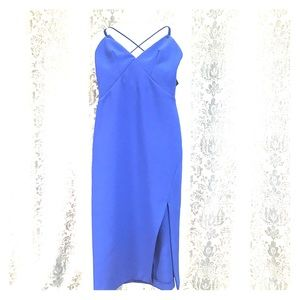 NWT Topshop Blue Strappy Dress size US 0
