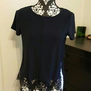 Tops - Cute navy blue  top