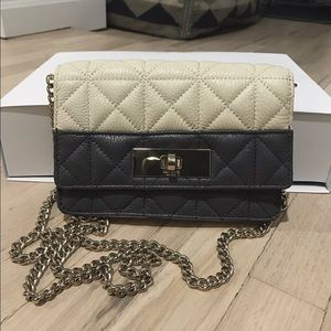 Kate Spade Two-Tone Quilted Crossbody Bag