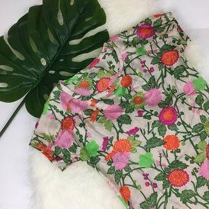 Hartford Tops - Hartford Silk Blend Floral Blouse