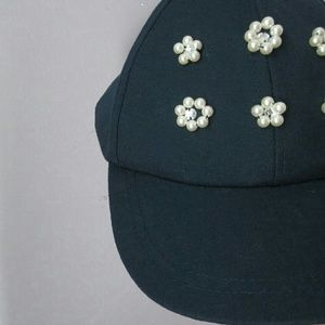 Accessories - Closet SALE Pearl Baseball Cap NEW