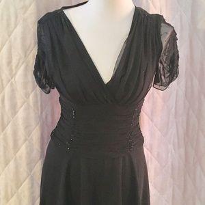 JS Boutique Dresses & Skirts - JS Boutique black sequined cocktail dress.