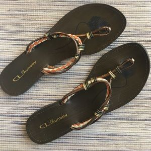 Chinese Laundry Shoes - CL By Laundry Size 10 Flip Flop / Sandal