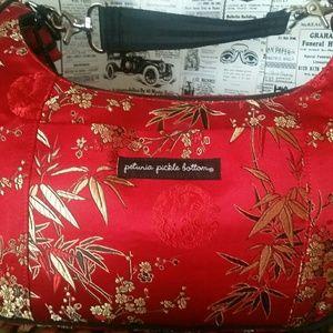 Petunia Pickle Bottom Handbags - Petunia Pickle Bottom Kimono Roll Touring Tote