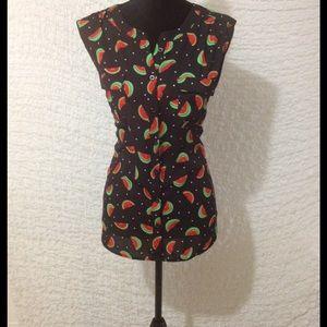 Soho Apparel Tops - 🍉Adorable watermelon button up !