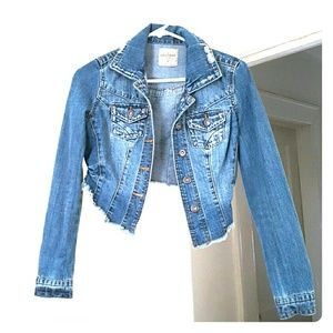 Highway Jeans Jackets & Blazers - Cropped Denim Jacket