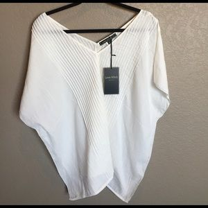 Love Stitch Tops - NWT summer Tunic/Poncho/Cover-up Lovestitch S/M