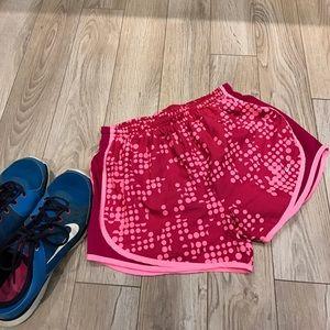 Nike Pants - Nike | Dri Fit Pink Running Shorts Size Small