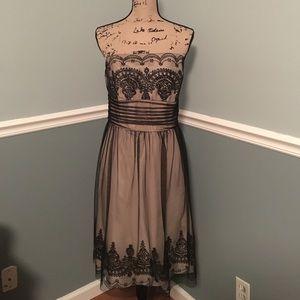 David's Bridal Dresses & Skirts - Champagne strapless dress