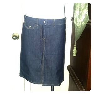 ca64894ca74 ... Fcuk jean skirt size 8 ...
