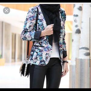 LC Lauren Conrad Jackets & Blazers - LC floral blazer!