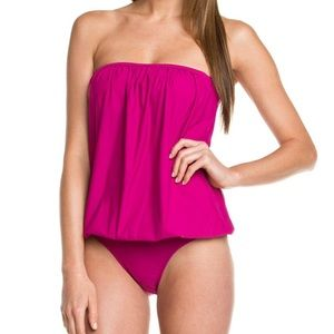 SPANX Other - New Spanx Blouson One piece Swimsuit 8 pink