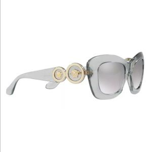 BIB Versace Transparent Grey, Light Grey Mirror