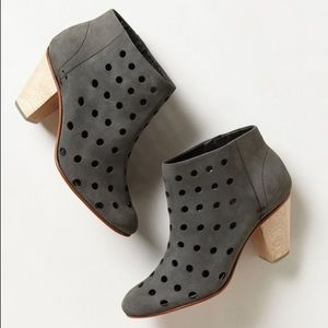 Rachel Comey Shoes - Rachel Comey Charcoal Dazze Punched Bootie