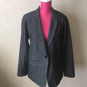 Aritzia Jackets & Blazers - {Aritzia} Wilfred Gray Single Button Blazer Jacket