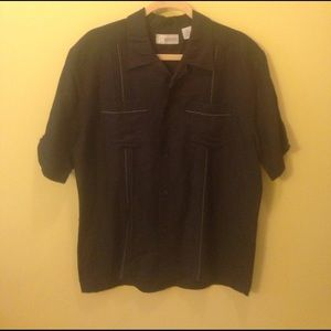 Cubavera Other - Men's Cubavera linen shirt- medium