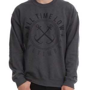 Hot Topic Sweaters - all time low band crew neck sweater sweatshirt