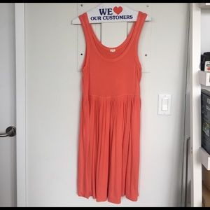 J. Crew Factory Dresses & Skirts - J. Crew Factory Flowy Orange Tank Dress