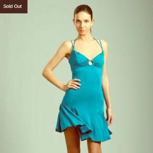 Just Cavalli Dresses & Skirts - Just Cavalli Teal Stretchy, Strapy Dress