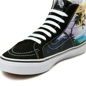 af25e0f30c Vans Shoes - SK8-HI Slim Dolphin Beach Skater Shoes ONLY