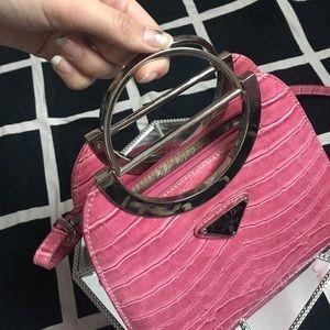 45f79d9974009e Prada Bags | Vintage Alligator Skin Handbag With Shoulder Strap ...