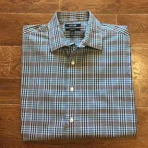 Apt. 9 Other - APT.9 - Men's Blue/Gray Dress Shirt