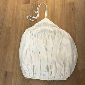 L'AGENCE silk top