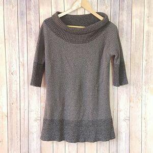Soft surrounding gray knit sweater