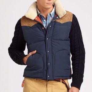 Scotch & Soda Other - Scotch & Soda Blue Mixed Up Jacket puffer Large