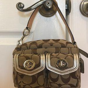 Coach Handbags - Authentic Coach Mini Bag Like New
