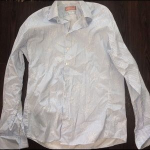 Thomas Pink Other - Thomas pink blue and white floral button down M