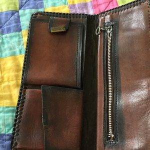 Bags - Old hand tooled wallet