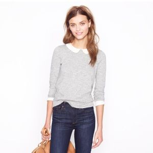 J. Crew Tops - J. Crew Peter Pan Collar Tee