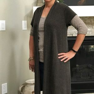 Eileen Fisher Sweaters - 🔥Eileen Fisher🔥Silk and Cashmere Long Cardigan