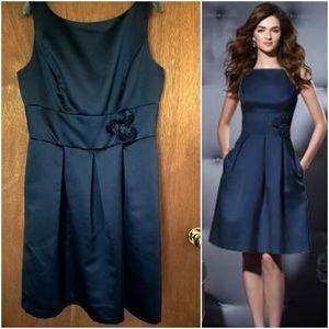 dessy Dresses & Skirts - Nwot midnight blue bridesmaid dress size 14