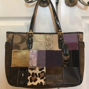 Coach Handbags - Authentic Coach Patchwork Bag Limited Edition