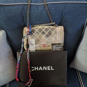 CHANEL Handbags - Chanel graffiti flap. Very rare!
