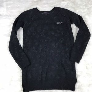 Scotch & Soda Sweaters - Scotch & soda maison scotch black sweater with pin