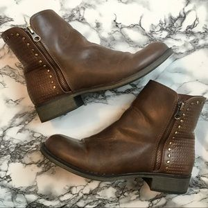 Fergalicious Brown Booties