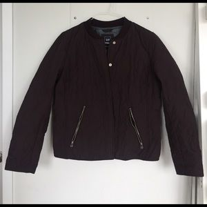 GAP Jackets & Blazers - GAP Quilted Zip Bomber