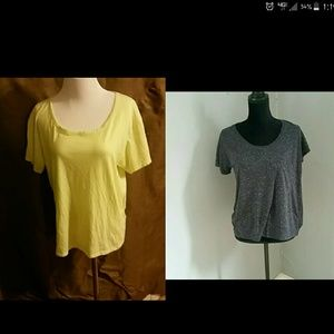 TWO Victorias Secret loose fitting shirts!