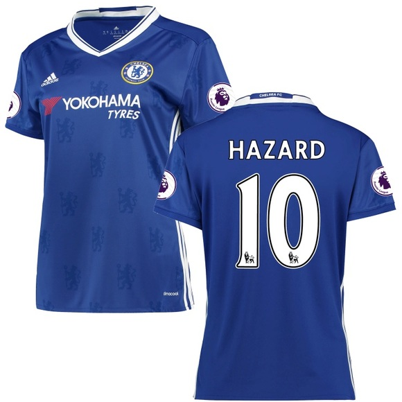 save off c4b48 2cfec Chelsea FC Hazard Jersey NWT