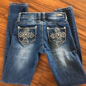 Red Camel Denim - Red Camel Skinny jeans w/detailed pockets