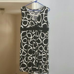 Kenneth Cole Reaction Dresses - Black and white dress.