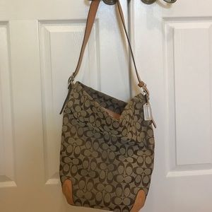 Coach Handbags - Authentic Coach Oversized Monogram Bag